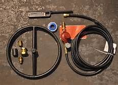 Diy Propane Fire Pit Kit With Images Diy Propane Fire Pit Diy
