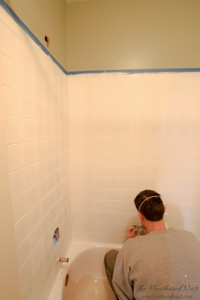 Can You Paint Tile Yes You Can Painting Bathroom Tiles