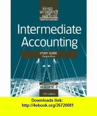intermediate accounting study guide vol ii volume 2 rh pinterest co uk Wiley Intermediate Accounting 15th Edition Intermediate Accounting Exam