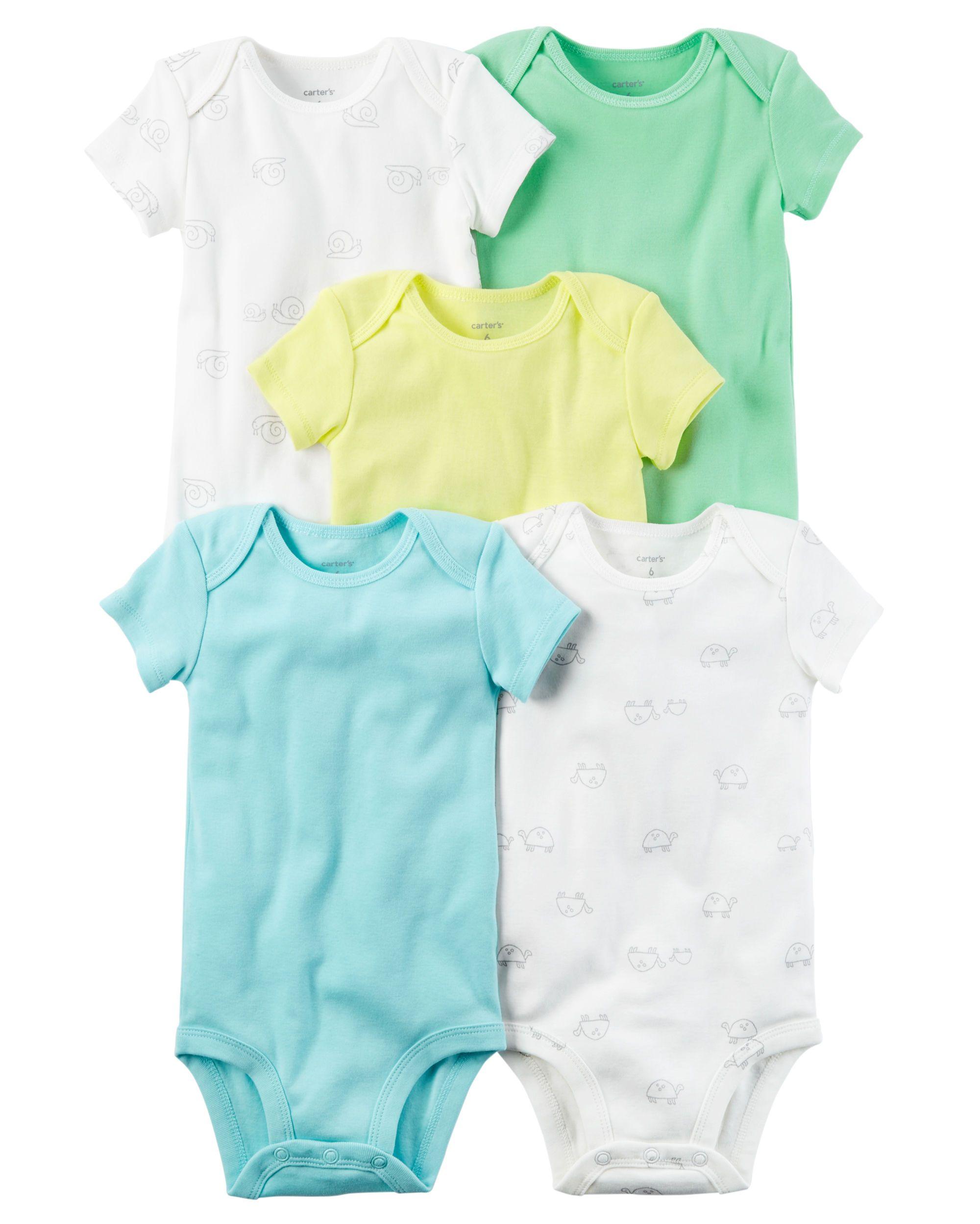 5 Pack Short Sleeve Original Bodysuits
