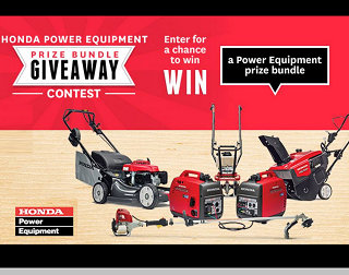 Hondaca NHL Prize Pack Contest Win Tickets Snowblower