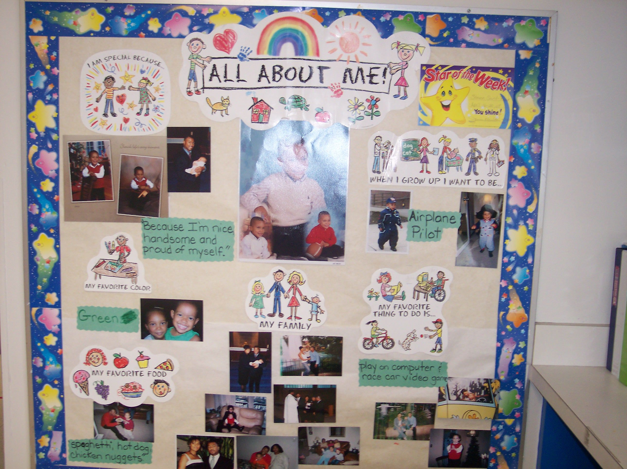 All About Me Posters For School