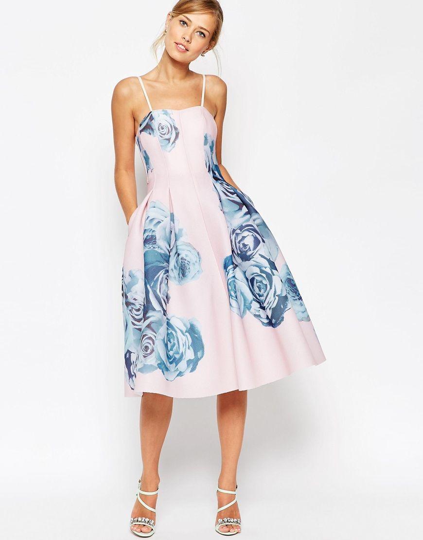 Tea length or midi length dresses for weddings wedding for Midi length wedding dress