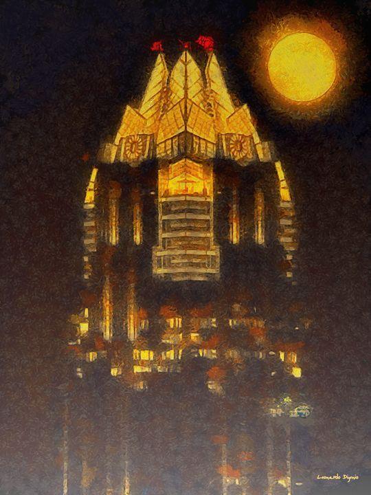 Frost Bank Austin - Leonardo Digenio - Paintings & Prints Buildings & Architecture City… | ArtPal thumbnail