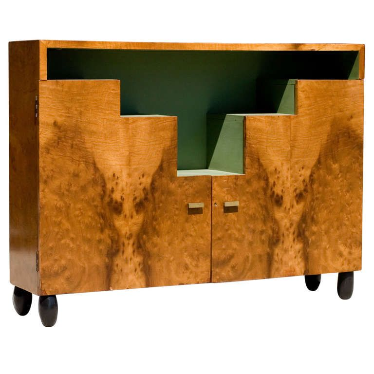 Paul Frankl Stepped Art Deco Cabinet