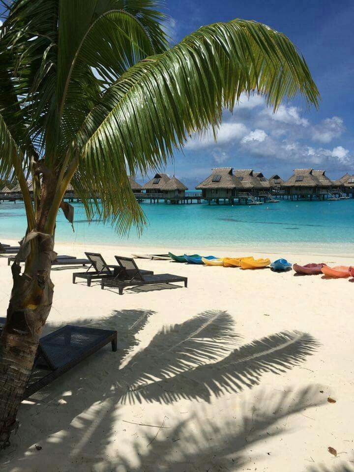 Looks so relaxing in Bora Bora