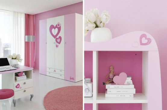 Fresh Awesome Pink Room Design for A Princess From Doimo Cityline
