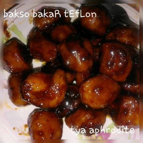 Resep Bakso Bakar Teflon No Tusuk Oleh Tya Aprodhite Resep Bakso Resep Makanan