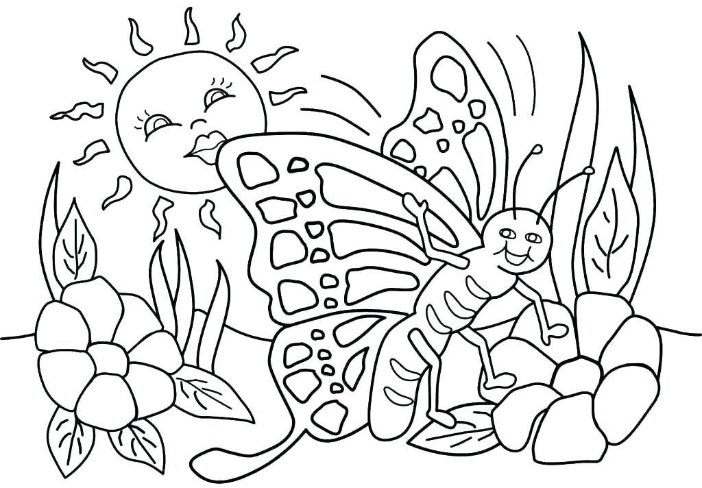 may coloring pages spring coloring
