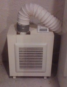 Fresh Air Circulator for Basement