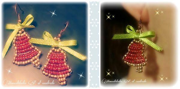 Christmas Crafts: Tutorial para hacer una campanita con abalorios