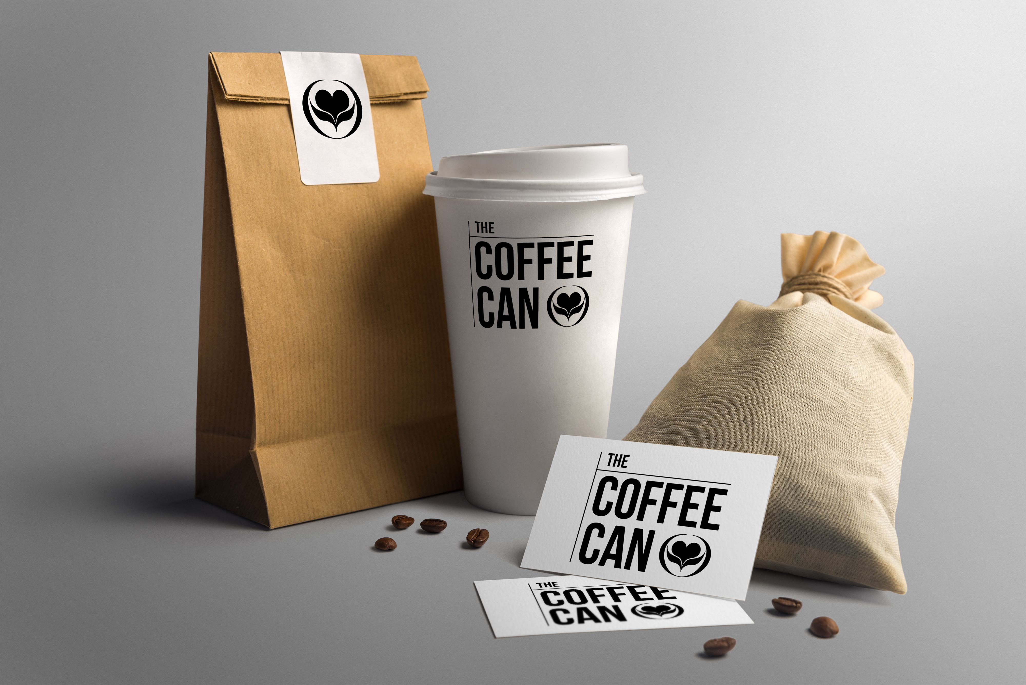 Logo design and brand identity for London coffee shop
