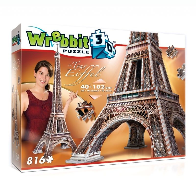 Wrebbit 3D puzzel - Eiffeltoren