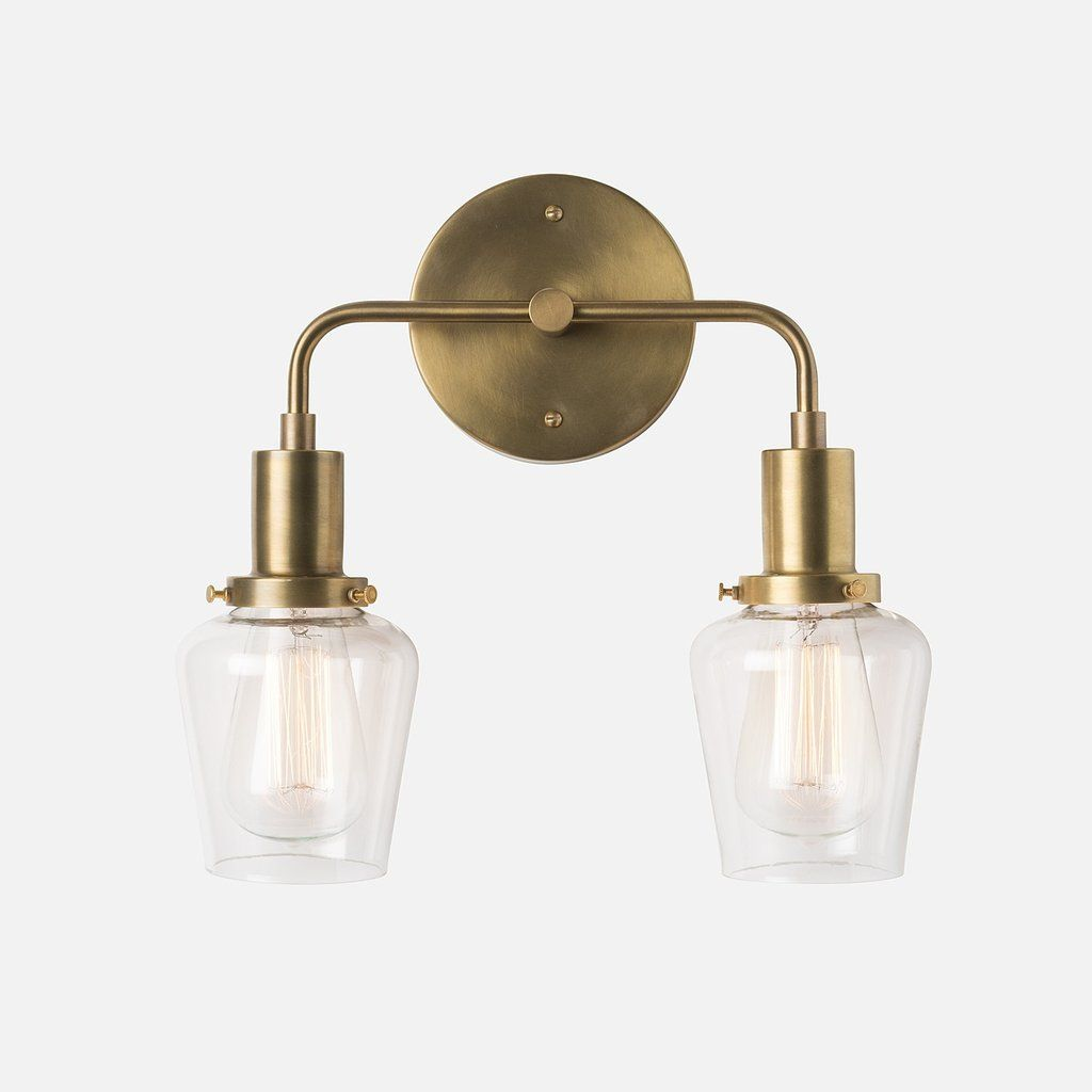 Abrams Double Sconce 2.25\