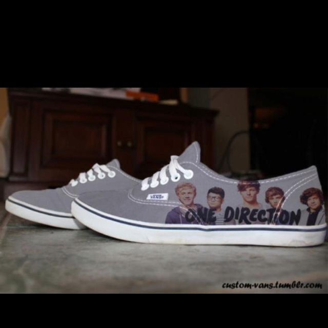 9b4a1901c9 One direction+Vans best shoes EVER!(