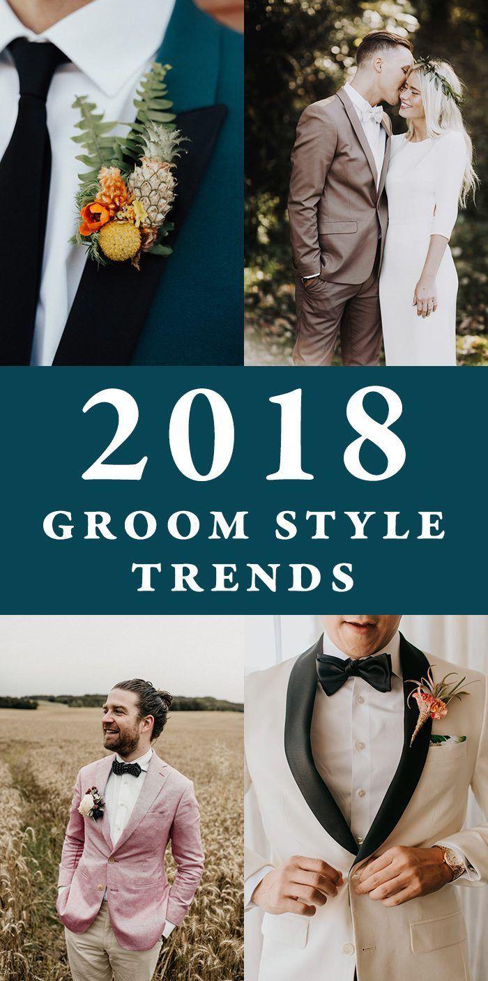 2018 Groom Style Trends | Pinterest | Groom style and Wedding blog