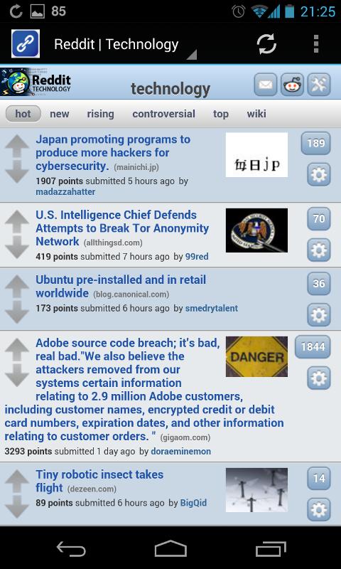 Reddit Forever its a simple and fascinating Reddit app