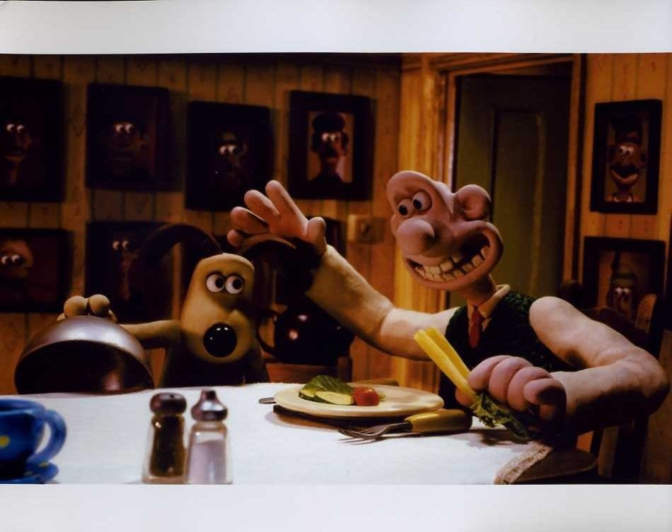 "Wallace And Gromit 8x10"" Photo #J3420"