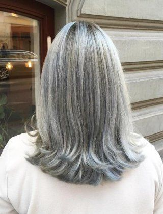 Icy Silver Hair Transformation Is The 2018 S Coolest Trend Beauty