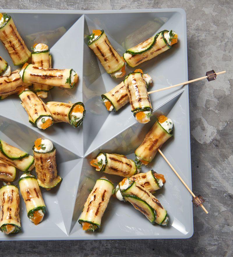 Photo of Zucchini cream cheese rolls