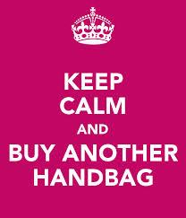 Siempre hay una excusa para comprar un nuevo bolso  <3