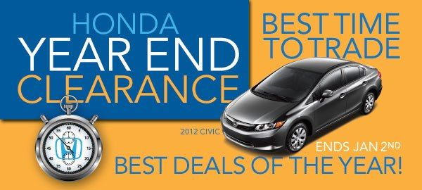 Charming Honda Year End Clearance. Get The Best Deals On A New Honda Right Now.