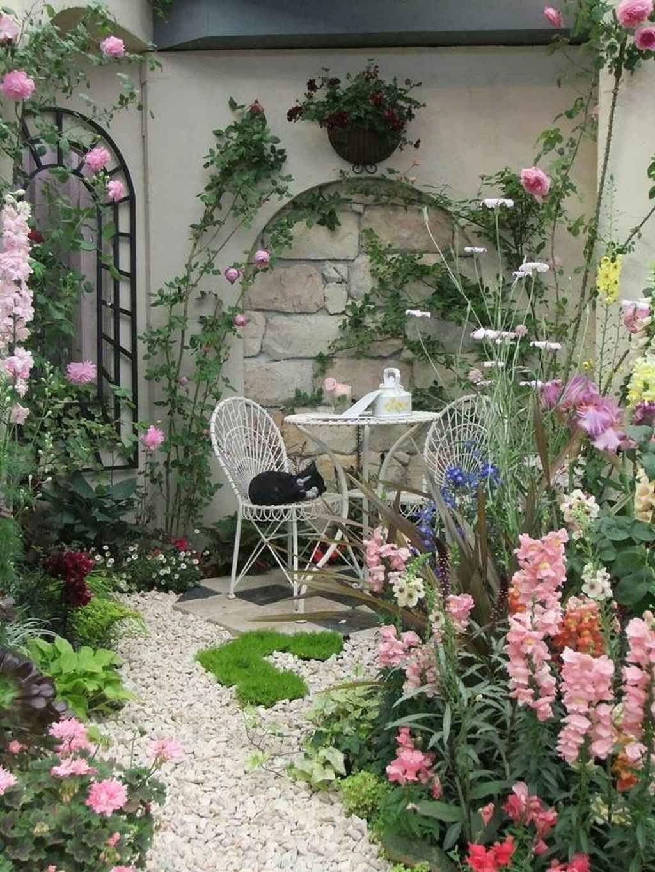 87 stunning small cottage garden ideas for backyard on backyard landscape architecture inspirations id=79506