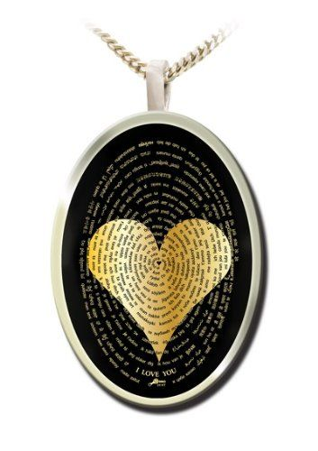 I Love You 24k Gold Inscribed in 120 Languages Silver Necklace Gifts for Her: Jewelry: http://www.amazon.com/gp/product/B004HV1OCQ/ref=as_li_ss_tl?ie=UTF8=1789=390957=B004HV1OCQ=as2=gifts048-20
