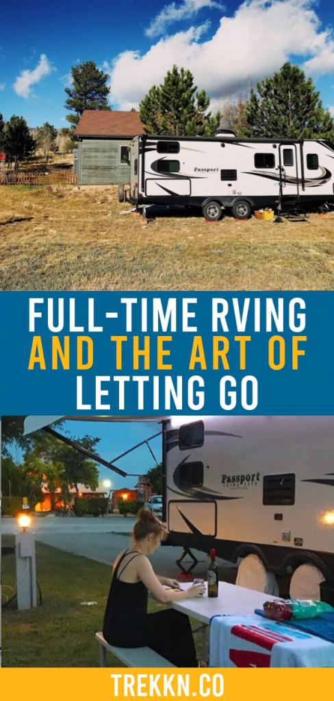 Photo of Learn the Art of Letting Go through Full-Time RV Living – TREKKN | An RV Lifestyle & Travel Blog