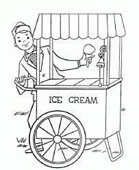 Free Ice Cream Truck Coloring Pictures Google Search Carrito