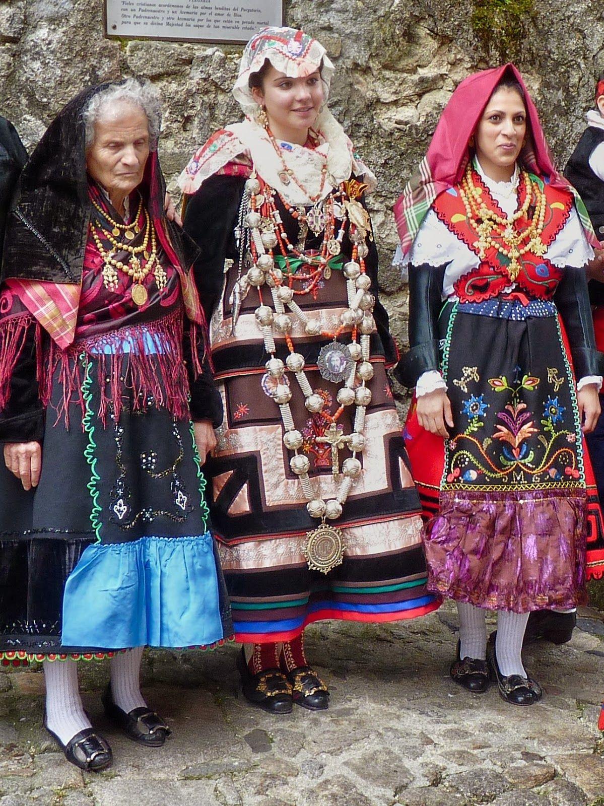 Spain Bride From Salamanca Spain Wearing Traditional
