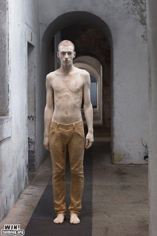 Skulptur Selber Herstellen , Bruno Walpoth Wood Sculpture