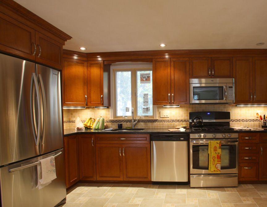 kitchen cabinet refacing kits idea | Custom built kitchen ...