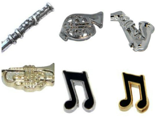 Musical Instrument Floating Charm Flute