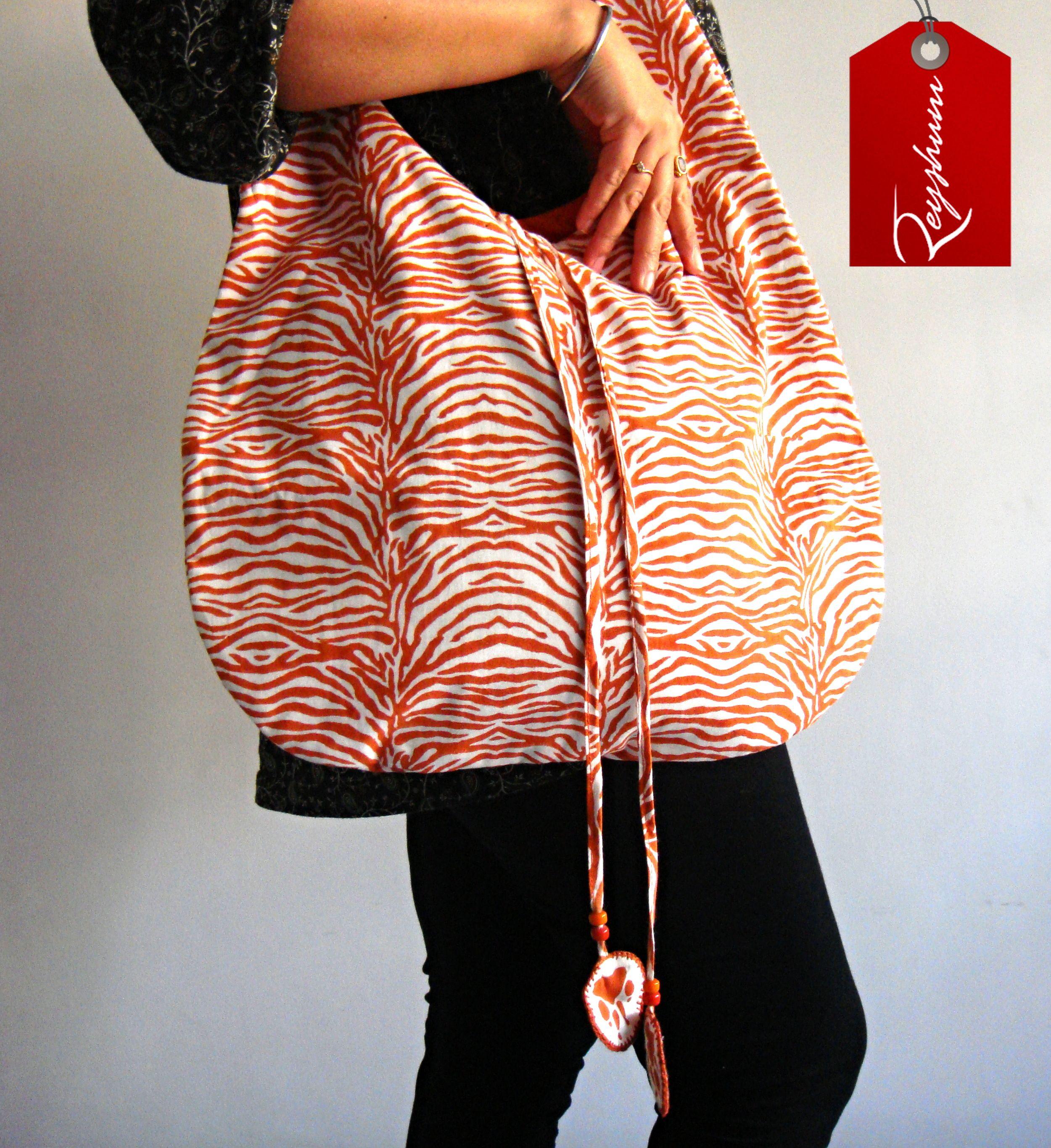 Hobo Bag - Block Print Hobo Bag -Shoulder Bag - #Cotton Bag - #Tote Bag - #Beach Bag #Etsy store etsy.me/1yvtT9D