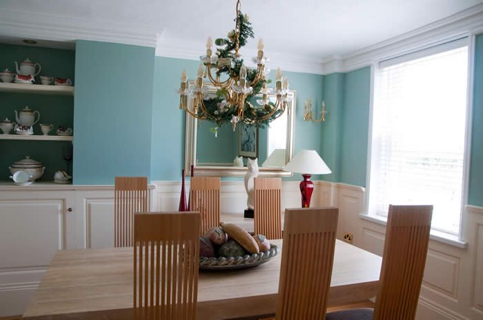 Georgian Wall Panelling For A Dining Room Half Height X