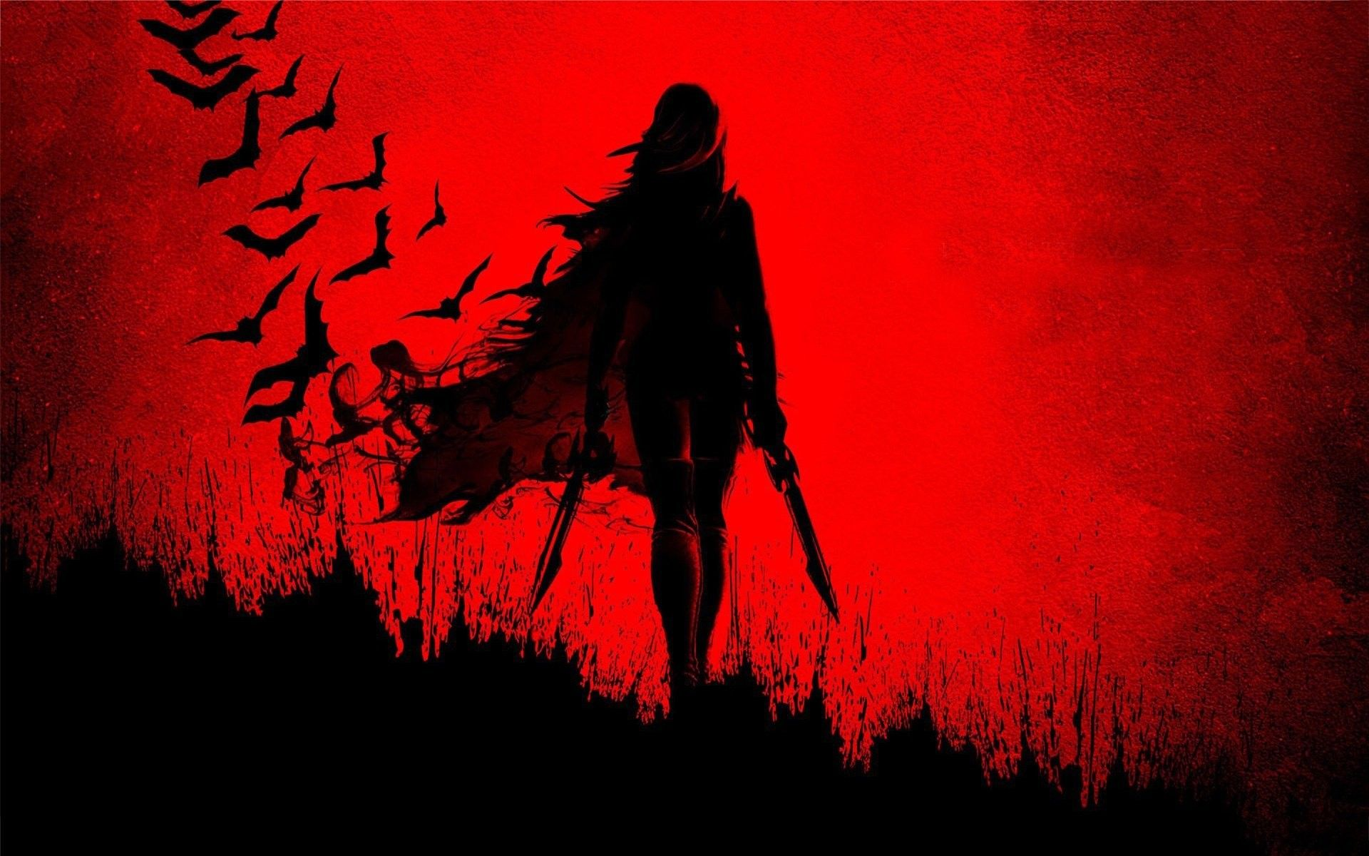 1920x1200 Blade Girl Shadow Wide Red Sword Anime Wallpaper 1920x1200 683479 Wallpaperup Girl Shadow Anime Wallpaper Throne Of Glass Series