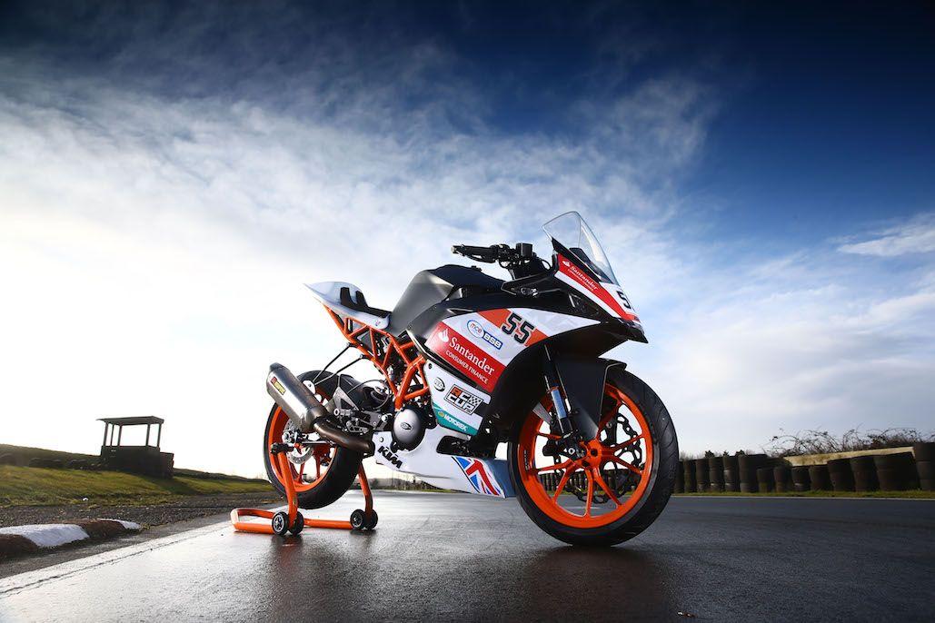 Ktm British Junior Cup Santander Consumer Finance Renews Title Sponsorship Ktm Ktm Motorcycles Motorcycle