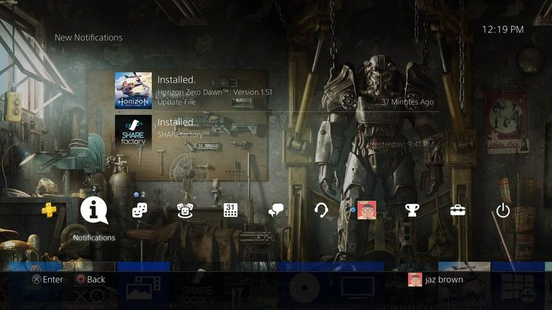 How To Change The Theme Of Your Playstation 4 Home Screen Homescreen Parental Control Playstation