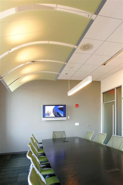 "Conference Room Lighting Design: Lighting Curved Ceiling Structure. ""Engineering Conference"