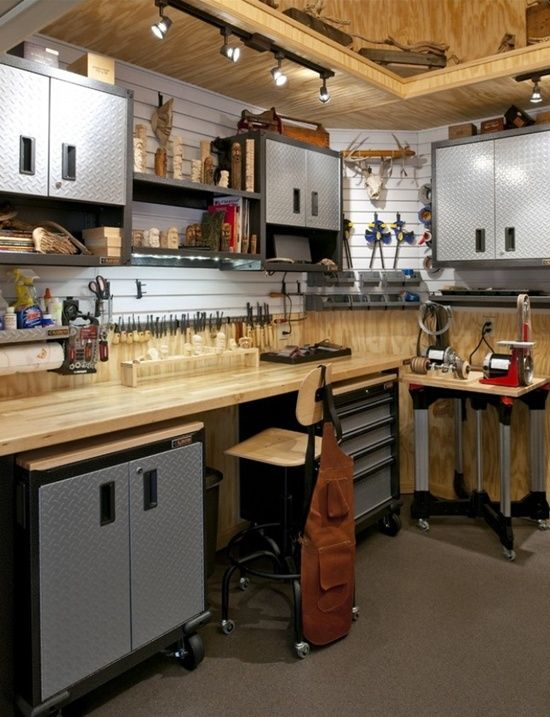 Awesome Sketchup Garage Cabinets