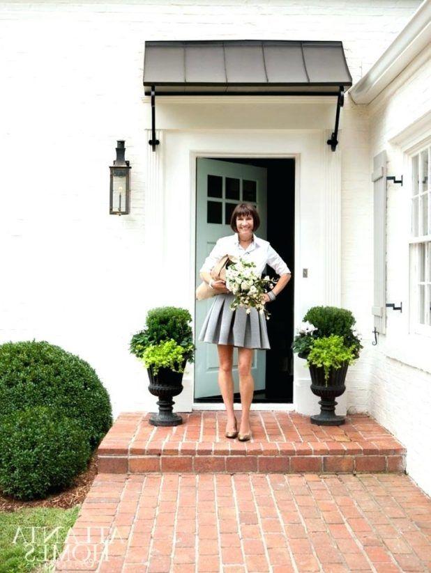 1000 Ideas About Front Door Awning On Pinterest Door Canopy Metal