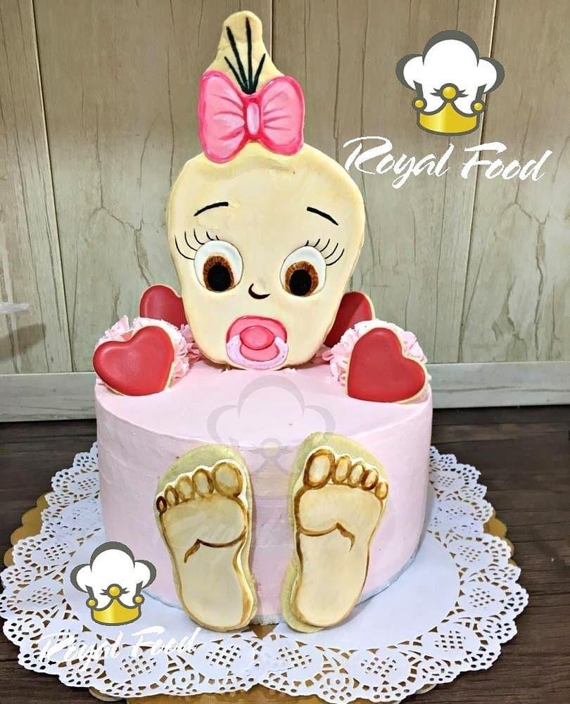 سفارش مشتری عزیزم کیک دوکیلویی با فیلینگ موز و گردو و تزئینات کوکی ژله دسر فینگرفود کیک جشن تولد پذیرایی عروسی اهواز کیانپارس Finger Foods Food Cake