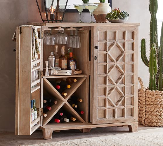 Beautiful Bar Cabinet for Dining Room