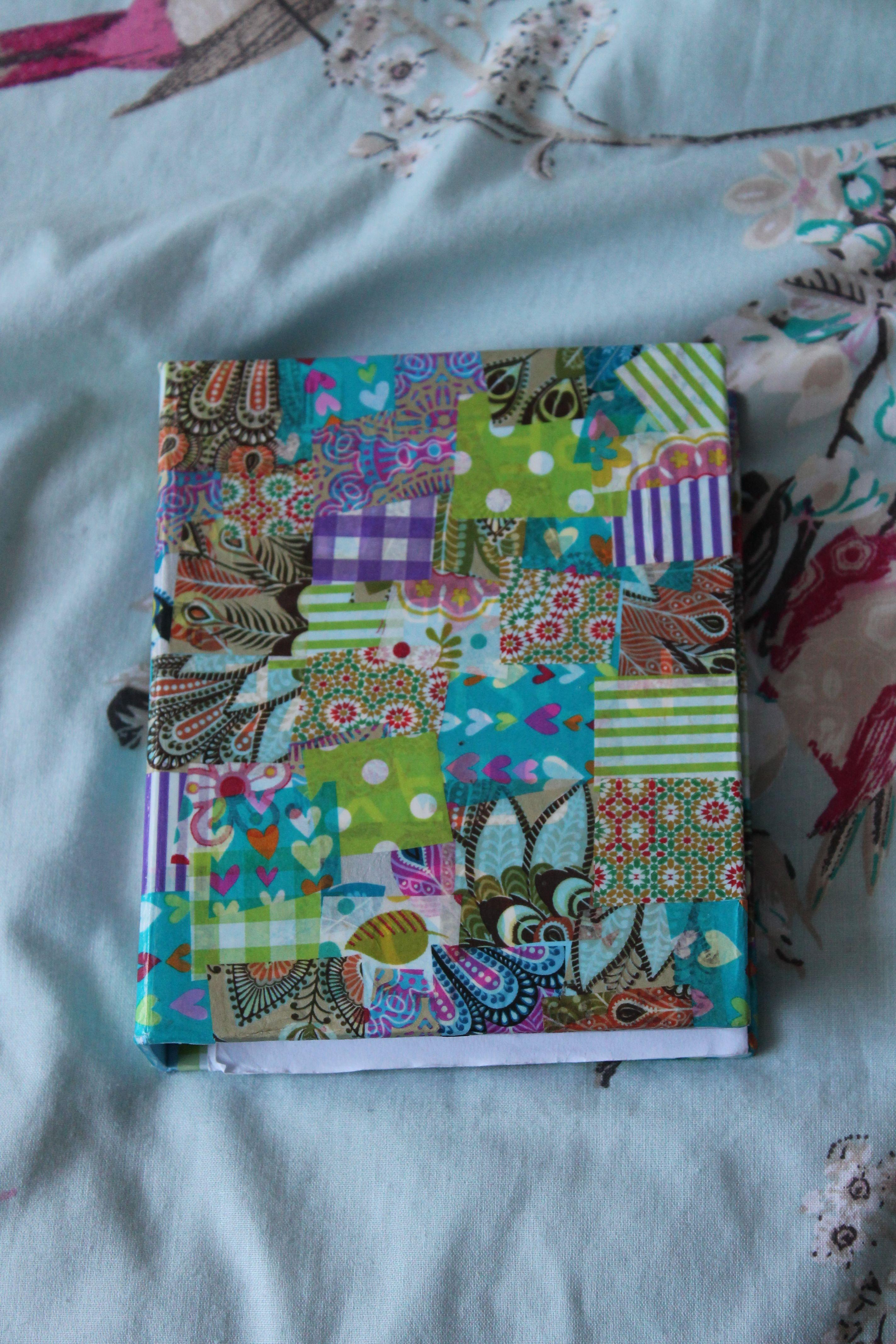 Decopatch notebook a blank cover notebook I got mine from asda