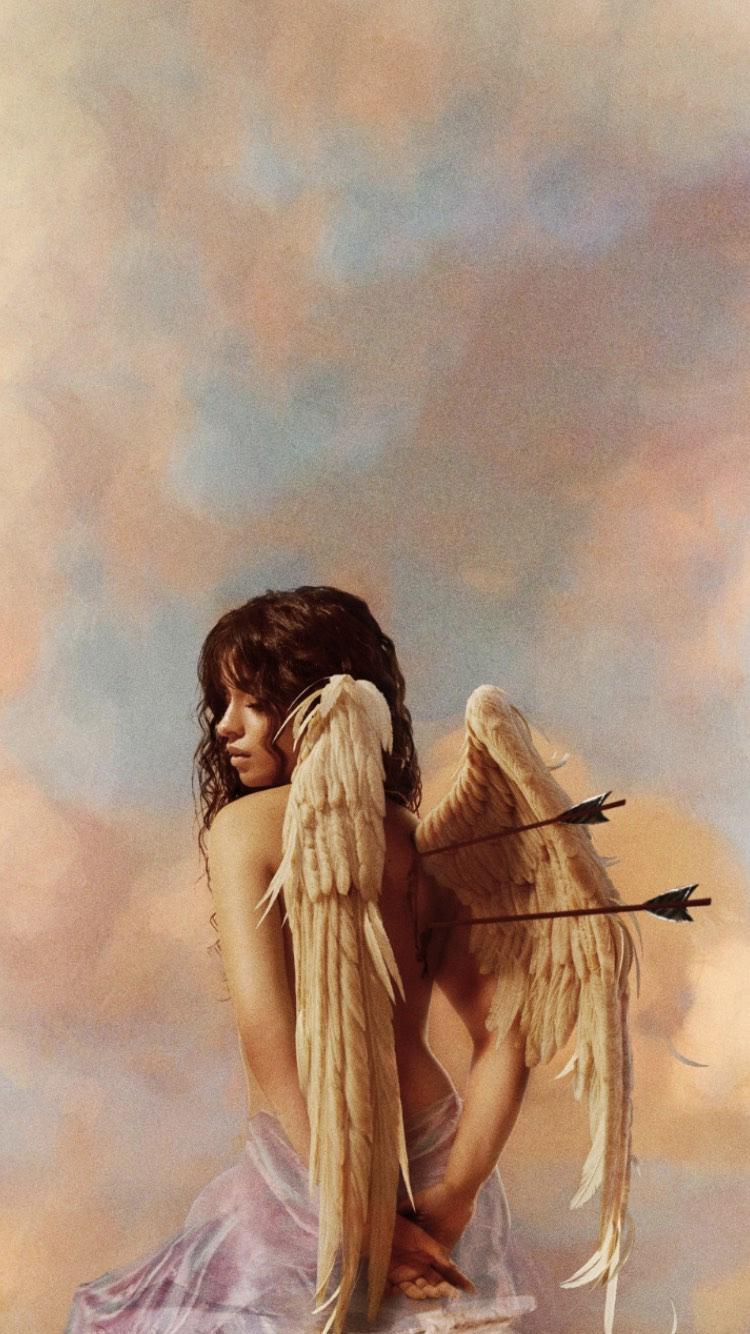 Camila Cabello No 2 Angel Aesthetic Aesthetic Art Angel Wallpaper
