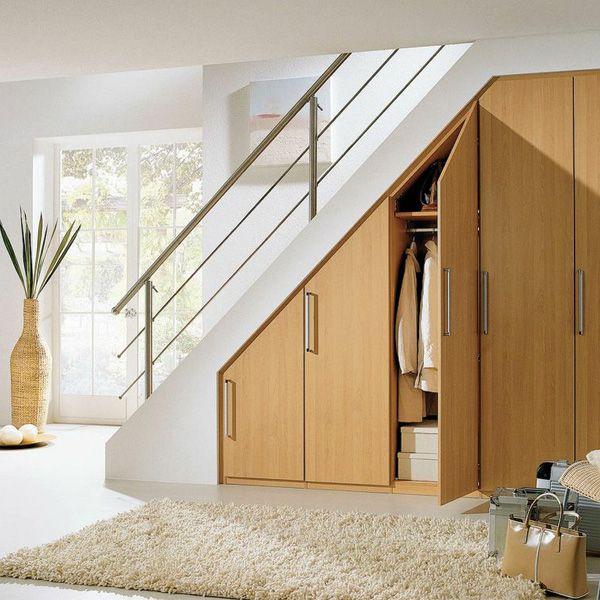 Шкаф под лестницей в частном доме своими руками фото 803