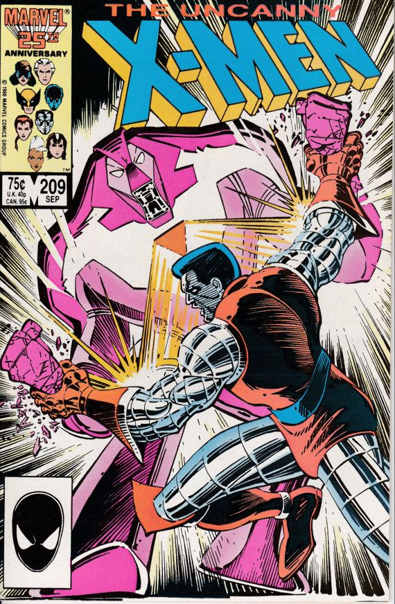 Uncanny XMen 1963 1st Series 209 September 1986 by ViewObscura, $4.00