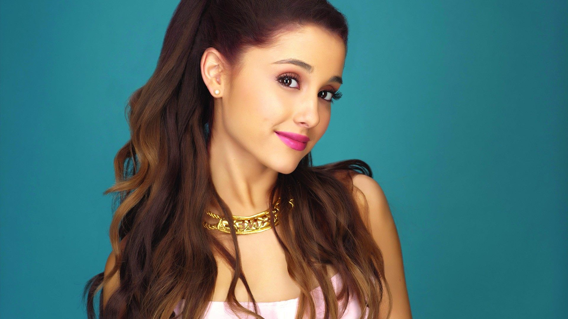 Makeup with mint green dress  ariana grande smile face wallpaper  x   kB by Bishop