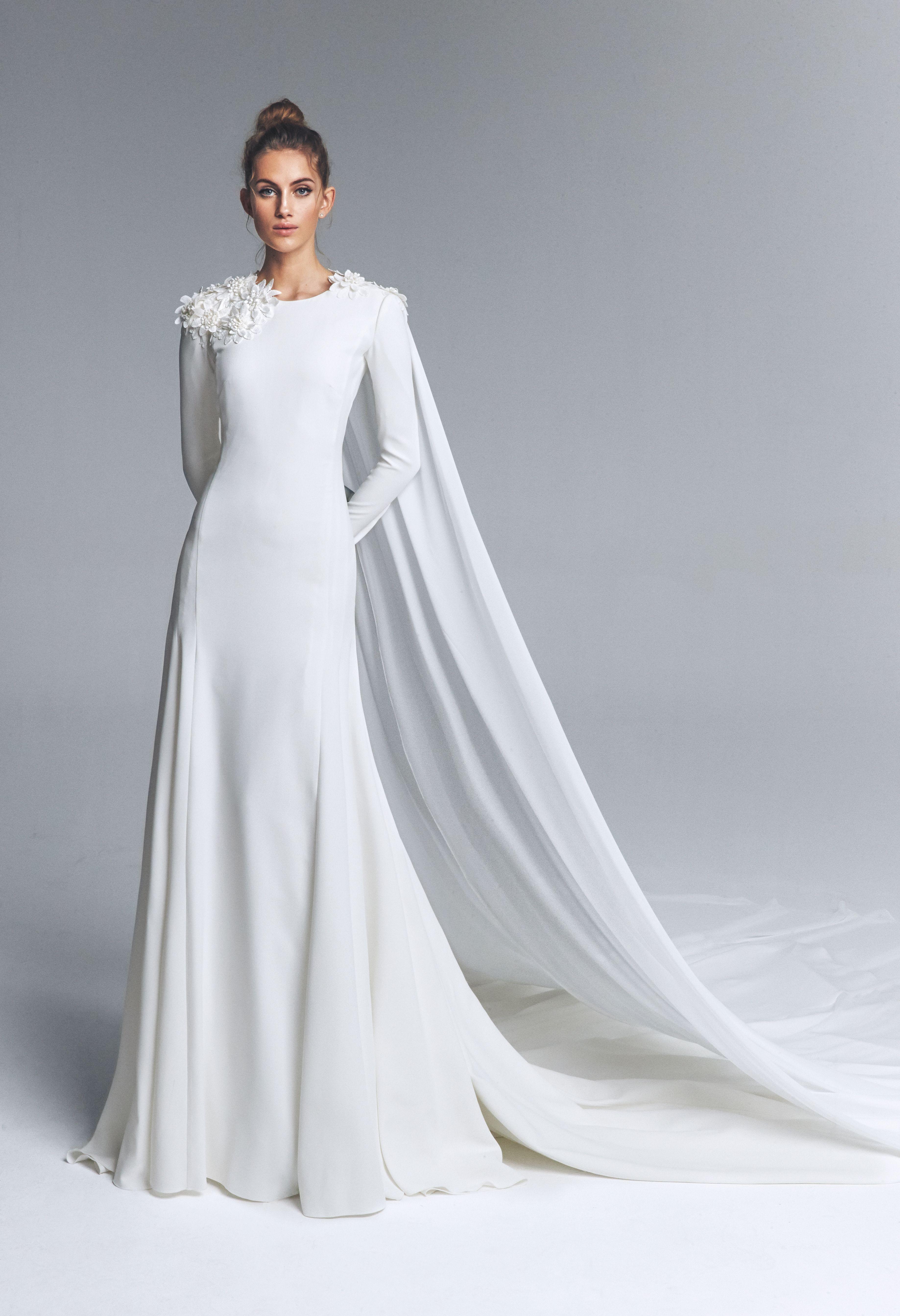 Pin by Marywillis on Vestidos de novia 5 Modest wedding